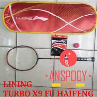 RAKET BADMINTON LINING TURBO X9 FU HAIFENG PROMO