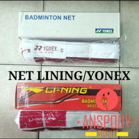 NET BADMINTON YONEX/LINING/JARING BADMINTON IMPORT