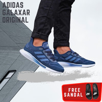 Sepatu Sneakers Pria Adidas Superflex Oreo Black Sole Grey Original