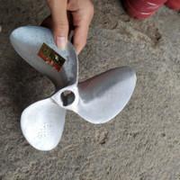 kipas 15/16 alumunium propeller baling baling perahu