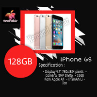 Iphone 6S 128GB Grey Garansi Distributor