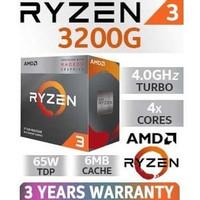 Bundle AMD - RYZEN 3 3200G & MSI - B450M PRO-M2 MAX