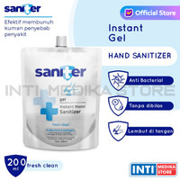 SANITER - Hand Sanitizer Gel Pouch 200ml | Refill Hand Sanitizer Gel