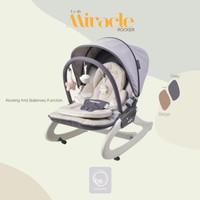ayunan bayi elektrik Babyelle Miracle