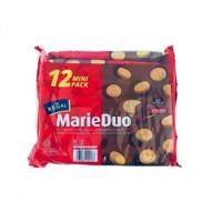 Regal Biscuit Biskuit Marie Duo Coklat Isi 12 Pcs Sachet 12Pcs