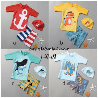baju renang anak boy import swimwear kids