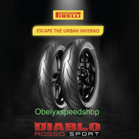 Ban Pirelli Diablo Rosso Sport 110/70 & 140/70 ring 17