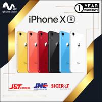 NEW APPLE IPHONE XR 64GB GARANSI TOKO 1 TAHUN RED BLACK BLUE WHITE