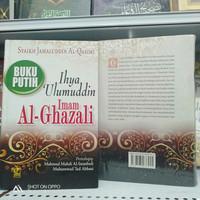 buku putih ihya Ulumuddin hard cover imam Al Ghazali Ra