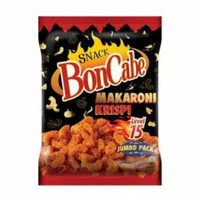 Boncabe Bon Cabe Snack Makaroni Krispi Level 15 150gram 150 gram