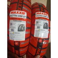 PAKET BAN MOTOR MATIC MAXXIS VICTRA S98 100/90 & 90/90 RING 14 TUBELES