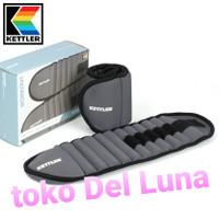 kettler adjustable ankle / wrist weights 2.5kg/pair ( 2 x 1.25kg)