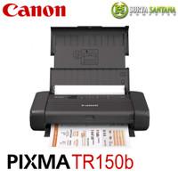 PRINTER CANON PIXMA TR150B Ink Jet (Portable with Battery Baterai)
