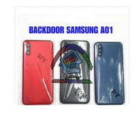 BACKDOOR BACK CASING TUTUP BELAKANG SAMSUNG GALAXY A01 A015 ORIGINAL