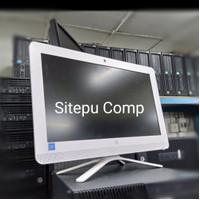 PC AIO ALL IN ONE HP CELERON J4005 RAM 4 GB HDD 500 GB LIKE NEW