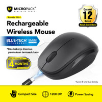 Micropack Wireless Mouse Blue Tech Rechargeable (BT-751C)