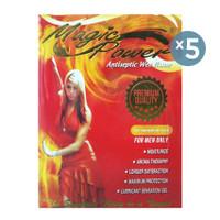 Magic Power Tissue Crimson Desire Pack - 5 Pack