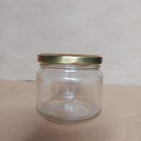 Jar kaca cake / jar kaca madu 300 ml