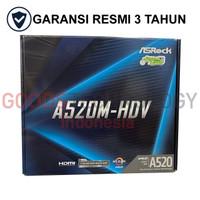 ASROCK A520M-HDV Motherboard AMD AM4 DDR4 A520