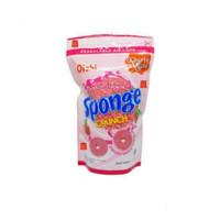Oishi Sponge Crunch Snack Strawberry 110gram 110 gram(ex 120gr)