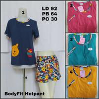 Babydoll Forever BodyFit Hotpant / Baju Tidur Wanita