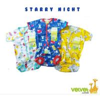 NEW Baju Anak Bayi Velvet Junior Setelan Baby New Born Celana POP SNI - NB