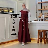 Diara Dress Gamis Murah Baju Gamis Kekinian Remaja Terbaru 2020