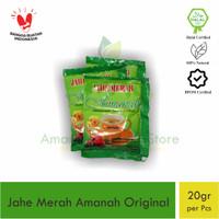 Jahe Merah Amanah Original 3 in 1 Hemat