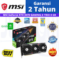 VGA MSI RTX 3070 GEFORCE RTX3070 8GB OC GAMING X TRIO