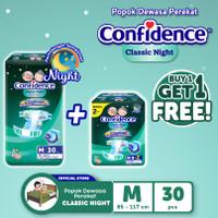 Confidence Popok Dewasa Classic Night M 30 FREE Classic Night M 8