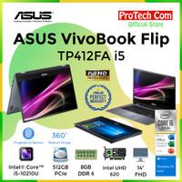 ASUS VivoBook Flip TP412FA i5-10210U 8GB 512GB 14 FHD OHS W10 TOUCH