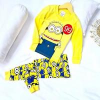 Baju tidur anak minions baju tidur minions piyama minion piyama import