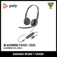 Plantronics Blackwire C3225 Headset (B2B) - USB A