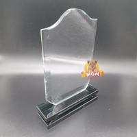 P83-M Plakat kristal Trophy Crystal tropi Golf Piala Dunia tinggi 21CM