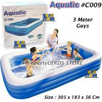 Kolam Renang Anak Jumbo (305 cm ) Kotak Polos Bestway 54009 - Aquatic