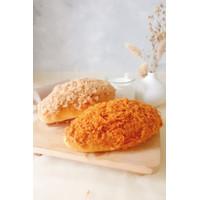 Roti Lynn's Japanese Cotton Bread - Roti Abon Ayam - Abon Ayam