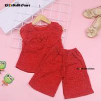 Setelan Intana Anak uk 1-2 Tahun / Atasan Cewek Rok Perempuan Baju