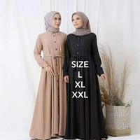 Baju Gamis Ukuran Jumbo Higth Quality Marina Dress / Gamis Ibu Hamil
