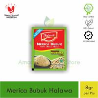Merica Bubuk Alami Probiotik Halawa Original 1 pcs