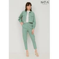 NOA Everyday SET PROMO : ADACHI Jacket with ADACHI Pants - Mint