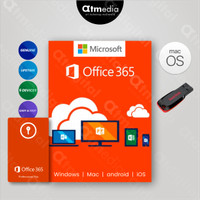 Office 365 Original Lifetime 5 Devices Windows, macOS, iOS, android. - USB FLASHDISK