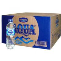 Aqua 600ml air mineral - 1 Dus isi 24