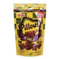 Oishi Pillows Pillow Coklat 110gram 110 gram (ex 120gram 120 gram)