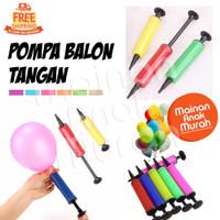 Pompa Balon Tangan Mini Balon Foil Hand Manual Pump Nampan Kolam