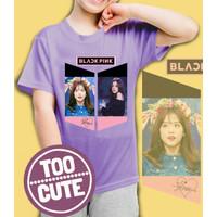 Kaos/baju anak BLackPink - JISOO- 001 (size anak 1 - 10 Tahun)