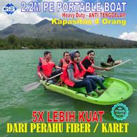 PERAHU / bukan - Perahu Karet / PERAHU RAKIT / Plastik FOLDING BOAT