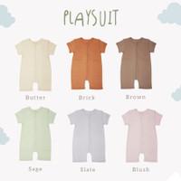 Baju Bayi Cotton Cub Playsuit