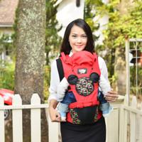 Gendongan Bayi Depan Baby Joy - Hipseat Ransel Belakang Millie Series