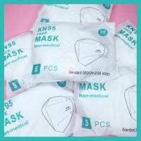 Masker KN95 Putih CE FDA Medical Grade GB2626-2006 min.30 pcs