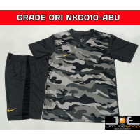 Jersey Bola Nike GO GRADE ORI NKGO10 Abu Setelan baju futsal